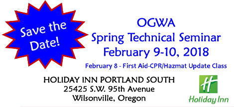2018 OGWA Spring Technical Seminar